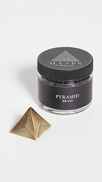 MAAPS Pyramid Incense Holder