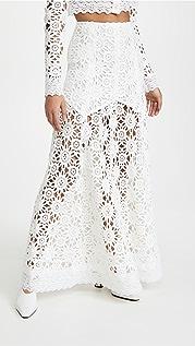 macgraw 象牙白 Noble 半身裙