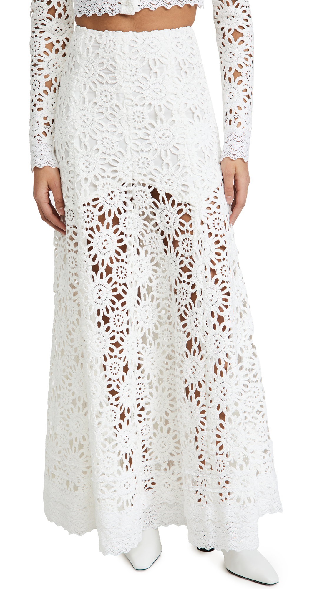 macgraw Noble Skirt in Ivory