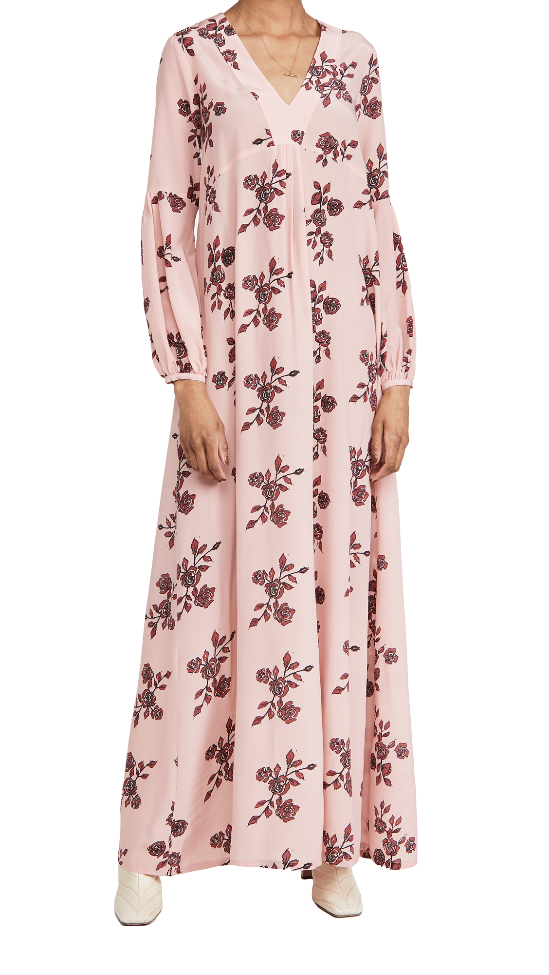 macgraw Bouquet Dress in Pink