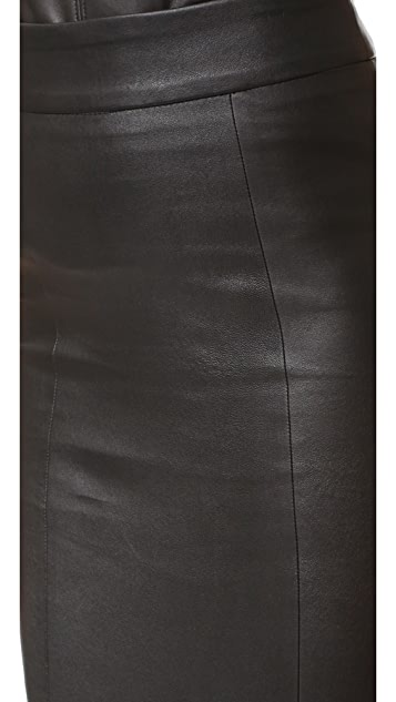 Mackage Lucille Leather Skirt
