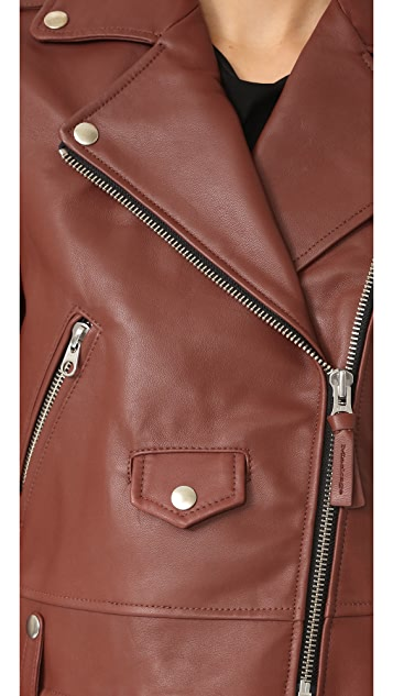 Mackage Baya Sleek Leather Jacket