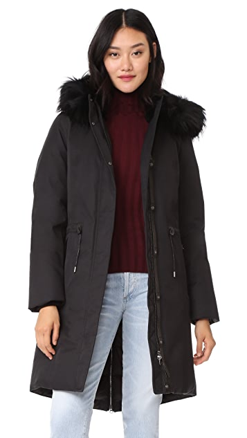 Mackage Enia Down Jacket with Fur Hood