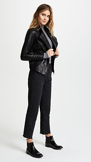 Mackage Pina Leather Jacket