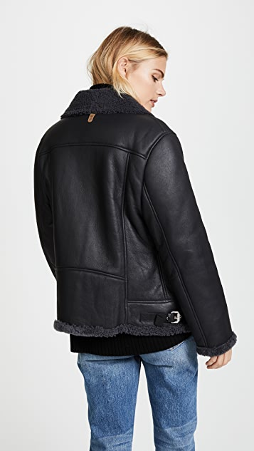 Mackage Minna Shearling Jacket
