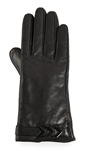 Mackage Boga Leather Tech Gloves