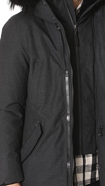 Mackage Edward Wool Down Jacket