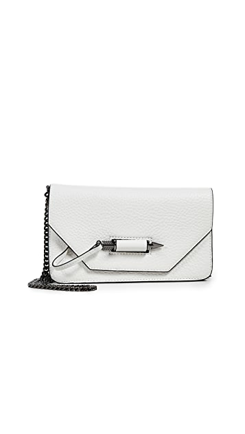 Mackage Zoey Mini Cross Body Wallet on a Chain
