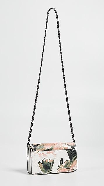 Mackage Zoey Mini Cross Body Wallet on a Chain