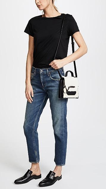 Mackage Shearling Rubie Crossbody Bag