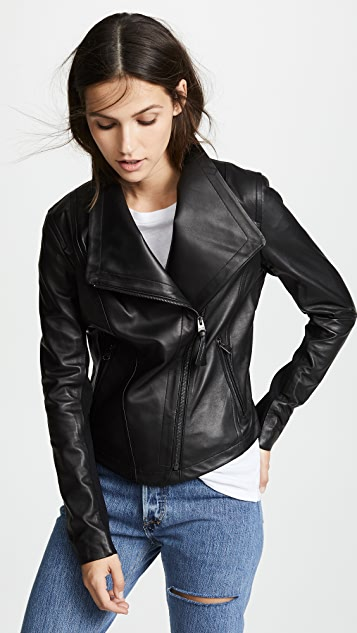 Mackage Pina Leather Jacket