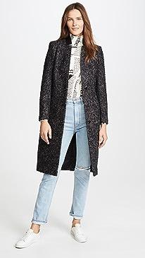 Bianca Mohair Coat
