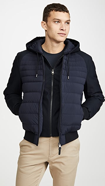 Mackage Short Lightweight Down Eryk-R Jacket with Hood