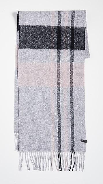 Mackage Ranger 格纹围巾