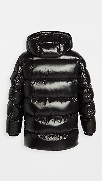 Mackage Kendrick Hooded Long Down Puffer Jacket