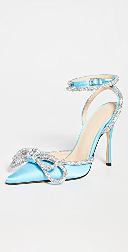 MACH & MACH - Double Bow High Heels