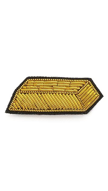 Macon & Lesquoy Gold Bar Pin