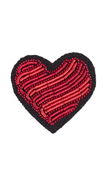Macon & Lesquoy Heart Pin