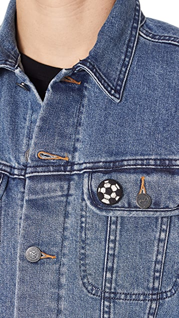 Macon & Lesquoy Soccer Ball Pin