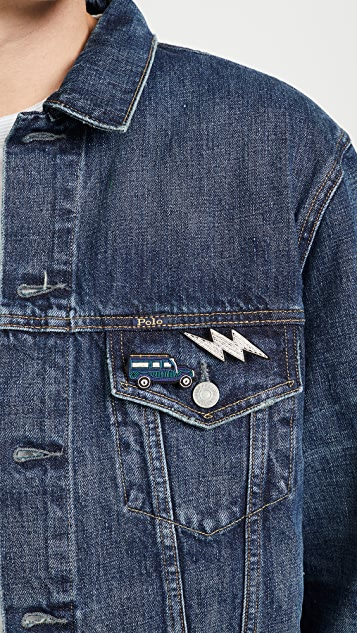 Macon & Lesquoy Lightning Pin