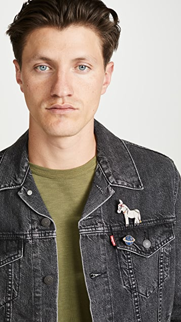 Macon & Lesquoy Donkey Pin