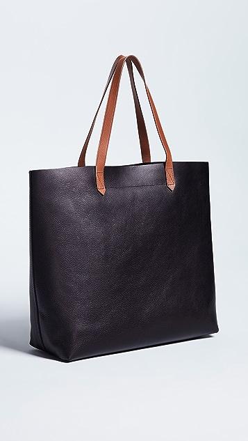 Madewell Объемная сумка Transport с короткими ручками