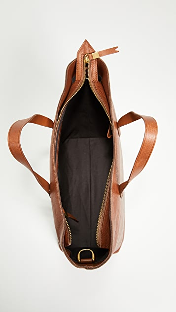 a4b77ae24f ... Madewell The Zip-Top Transport Carryall ...
