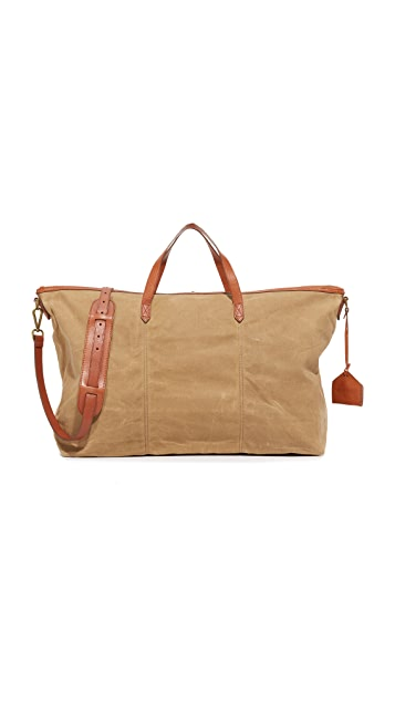 Madewell Canvas Transport Weekender Bag