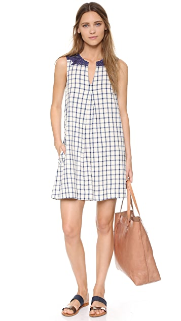 Madewell Embroidered Sunray Dress