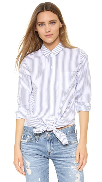 1e803b43e8 Madewell Tie Front Shirt | SHOPBOP
