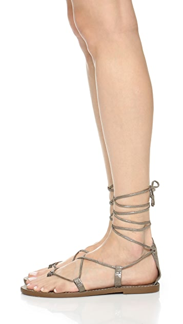 Madewell Kana Lace Up Gladiator Sandals