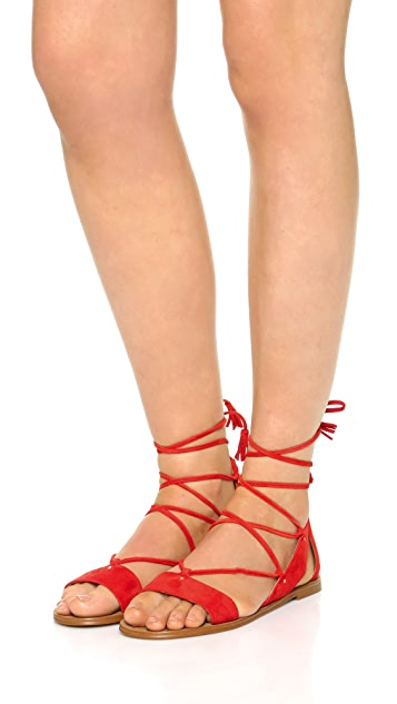 1557065b3371 ... Madewell Bridget Lace Up Gladiator Sandals ...