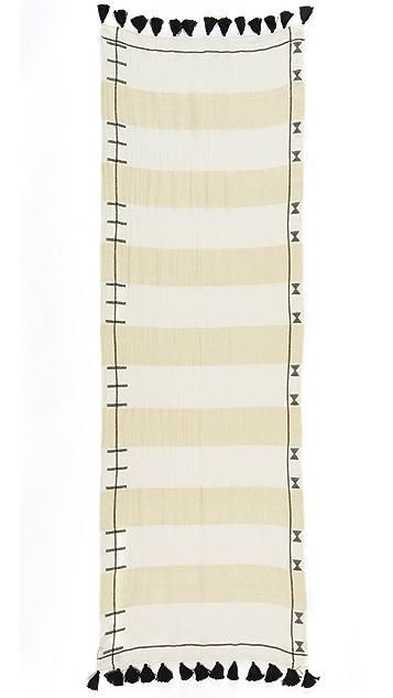 Madewell Gauze Stripe Scarf