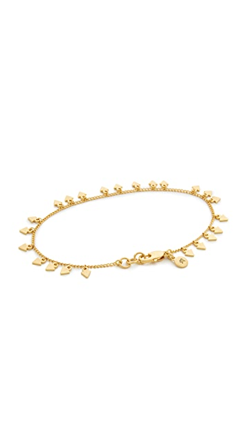 Madewell Dancing Arrow Anklet