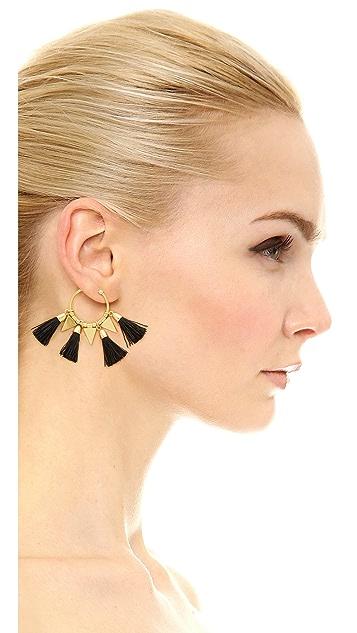 Madewell Tassle Time Earrings