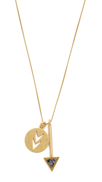 Madewell Arrowstone Necklace