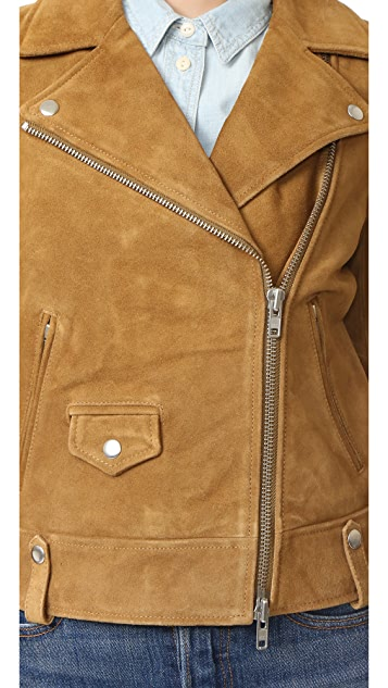 Madewell Suede Motorcycle Jacket