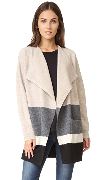 Madewell Striped Sweater Coat Shopbop