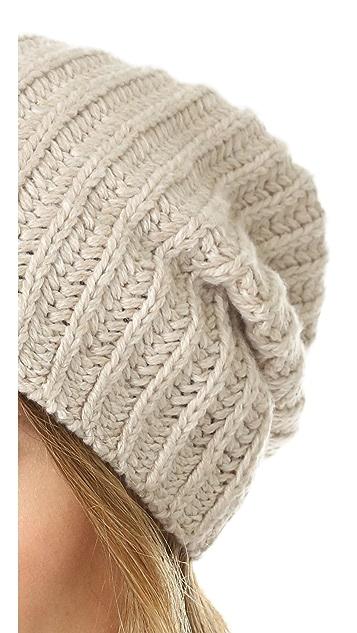 Madewell Slouchy Cardigan Stitch Hat