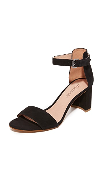 Madewell Lainy Suede Sandals