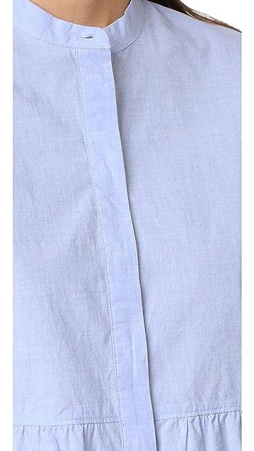 Madewell Peplum Shirt