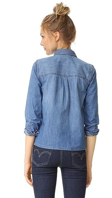 Madewell Denim Pocket Popover Shirt
