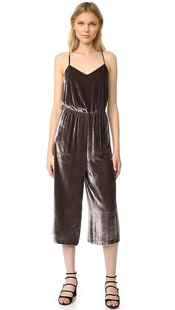 43cbd3cf992d Madewell Velvet Cami Jumpsuit
