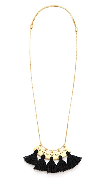 Madewell Tassel Pendant Necklace