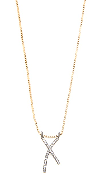 Madewell X Pave Necklace