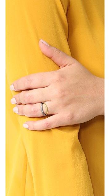 Madewell Pave Cross Over Ring
