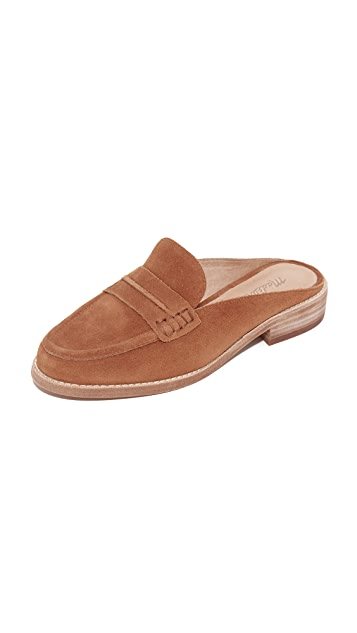 9f1ee4c288c Madewell Elinor Suede Loafer Mules