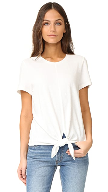 Madewell levine solid tie front top shopbop madewell levine solid tie front top ccuart Gallery