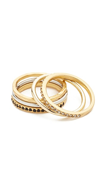 Madewell Filament Stacking Rings