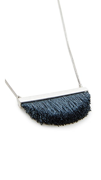 Madewell Patchwork Fringe Necklace